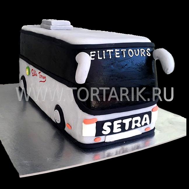 торт в виде автобуса фото